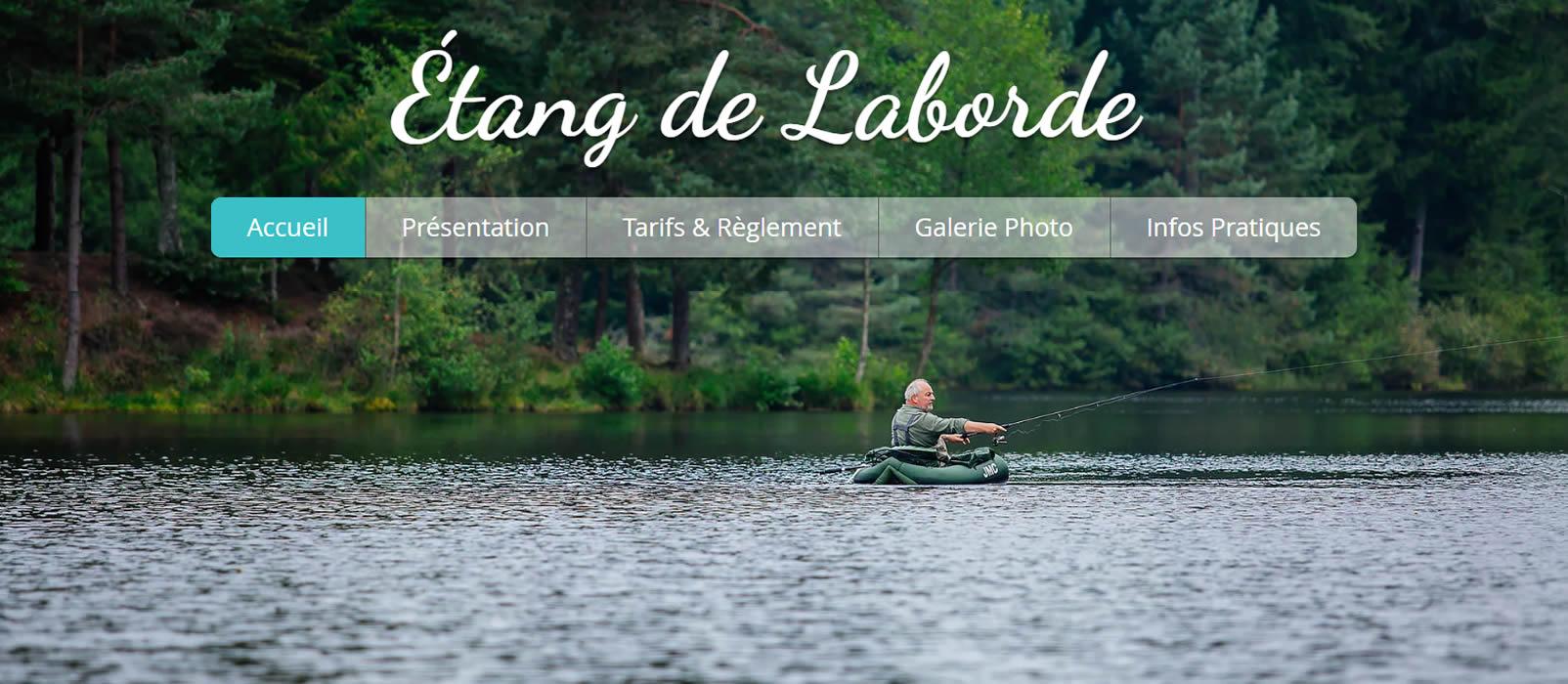 Photo partenaire - L'étang de la Borde - Les eaux de pêche - Bienvenue à la Vérénerie -  Chambres et table d'hôtes