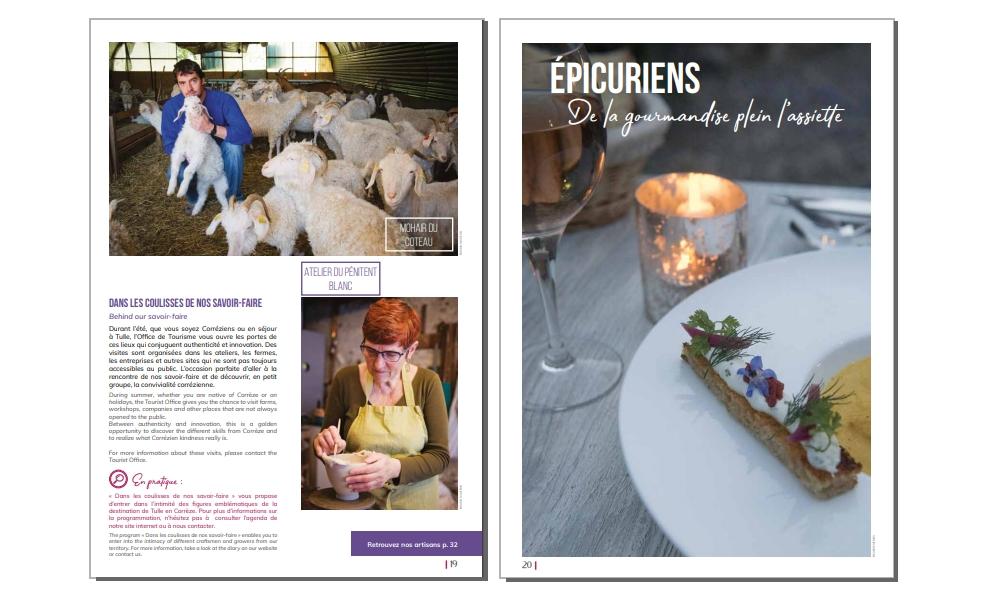 Photo Office Tourisme de Tulle le Mag - Page 11 - 09-03-2019 - Bienvenue à la Vérénerie -  Chambres et table d'hôtes